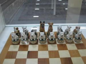 犬のチェスセット