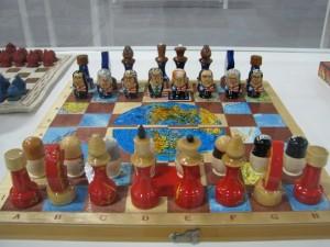 大統領のチェスセット
